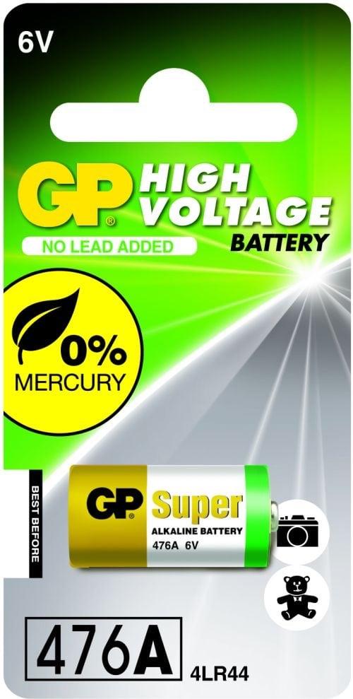 [tag] GP 476A / 4LR44 6 Volt Alkaline batteri 6 volt batterier
