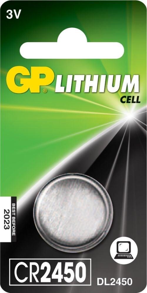 [tag] CR 2450 3Volt Lithium batteri Knapbatterier (3V)