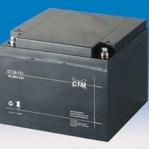 [tag] 12 volt 24 Ah. bly batteri 12 volts blybatterier