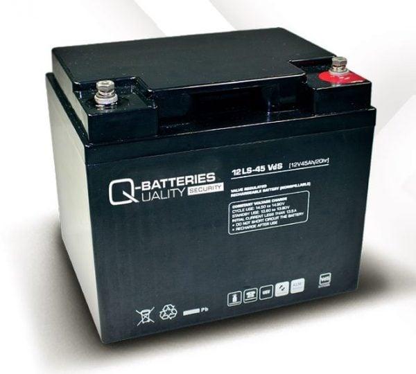 [tag] 12 volt 45 Ah. bly batteri 12 volts blybatterier