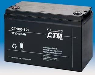 [tag] 12 volt 100 Ah. bly batteri 12 volts blybatterier