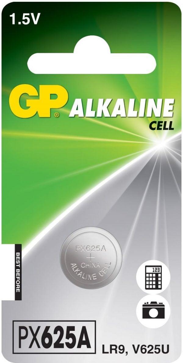 [tag] GP 625A / LR9 Alkaline batteri Foto
