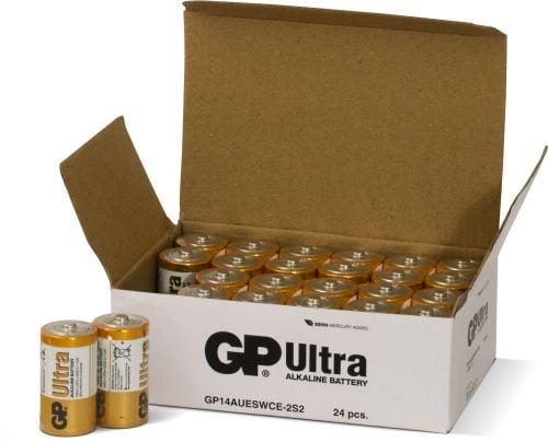 [tag] 24 stk. GP C Ultra batterier / LR14 C batterier