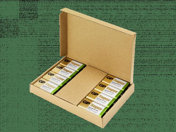 [tag] 8 stk. GP 9V Super Alkaline batterier – Tilbudspakke 9V batterier