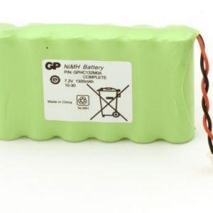 [tag] 130AAM6BMX batteri, Passer til alarmsystem Sector Complete Alarm batterier