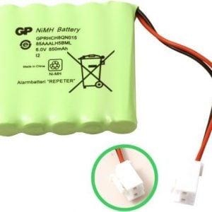[tag] GP85AAALH5BMX batteri, Passer til alarmsystem Repeater Alarm batterier