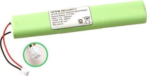 [tag] 180AAH6SMXZ batteri, Passer til alarmsystem CTC-922 Alarm batterier