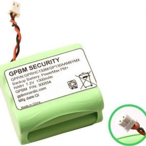 [tag] GP130AAM6YMX batteri, Passer til alarmsystem PM+ Alarm batterier