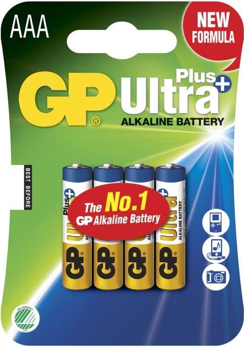 [tag] GP AAA Ultra Plus batterier / LR03 / LR3 AAA batterier