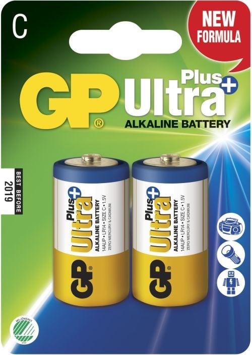 [tag] GP C Ultra Plus batterier / LR14 C batterier
