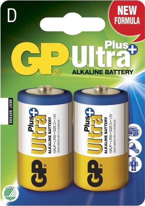 [tag] GP D Ultra Plus batterier / LR20 D batterier