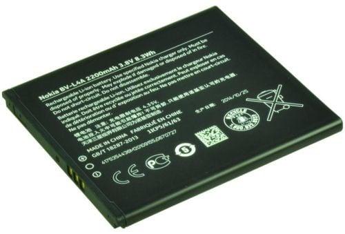 [tag] Smartphone Battery 3.8V 2200mAh 8.3Wh Mobiltelefon batterier
