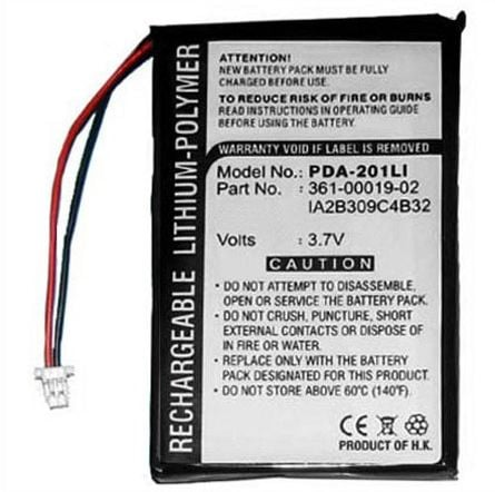 [tag] Batteri til Garmin iQue 3200 (extended) Garmin batterier