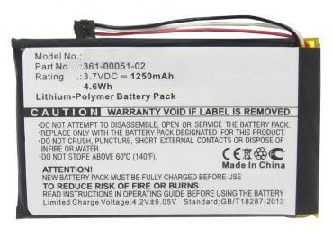 [tag] Batteri til Garmin Dezl 560LMT Garmin batterier