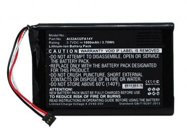 [tag] Batteri til Garmin Nuvi 2539LMT / 2559LMT / 2589LMT / 2599LMT Garmin batterier