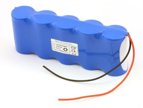 [tag] Batteripakke til nødbelysning 6,0volt 4500mAh. Cd Nødbelysning batterier