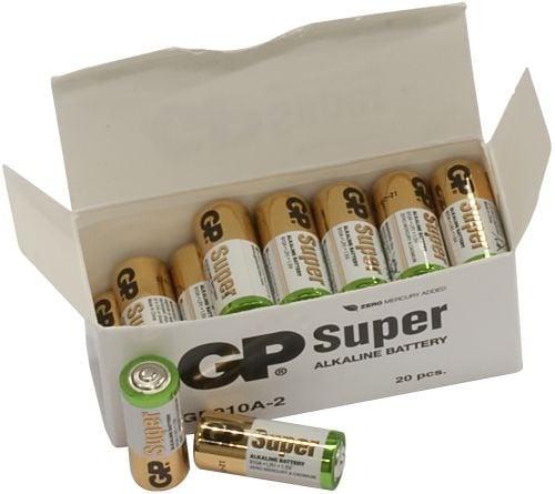[tag] 20 stk. GP N Super Alkaline batterier / LR1 N / LR1 batterier