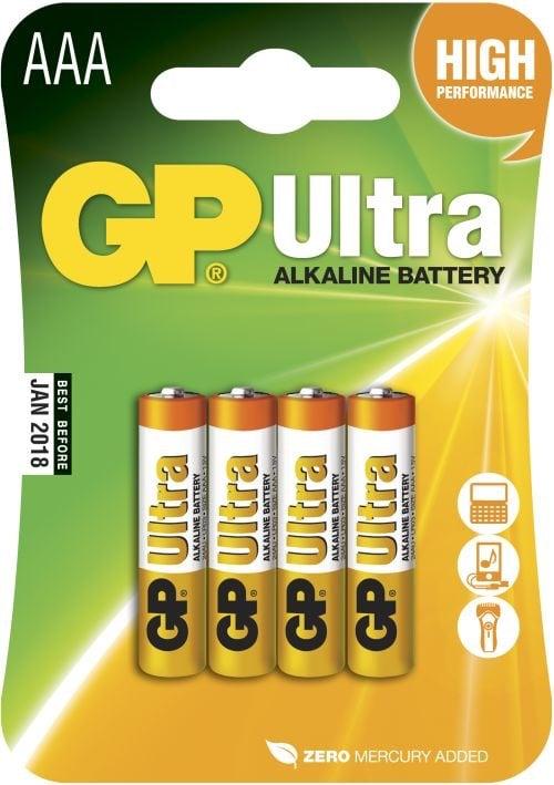 [tag] GP AAA Ultra batterier / LR03 AAA batterier