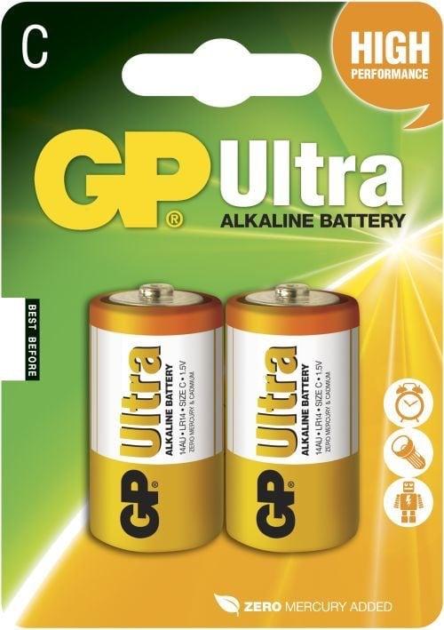 [tag] GP C Ultra batterier / LR14 C batterier
