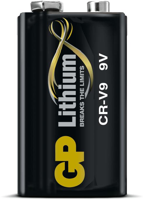 [tag] GP 9V lithium batteri Batterier Lithium