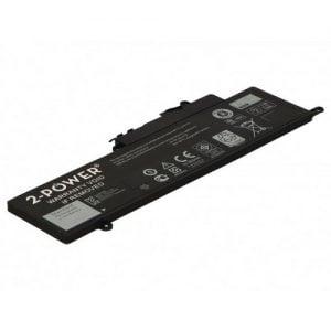 [tag] 2-Power batteri til bl.a. Dell Inspiron 11 3147 – 3800mAh Batterier Bærbar