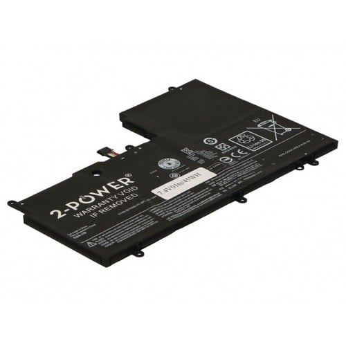 [tag] 2-Power batteri til bl.a. Lenovo ThinkPad Yoga 3 14 – 6000mAh Batterier Bærbar