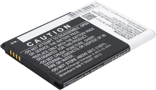 [tag] Smartphone Battery 3.85V 3000mAh Mobiltelefon batterier