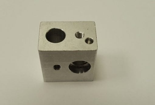 [tag] Wanhao Duplicator i3 Hot end nozzle mounting block Wanhao tilbehør