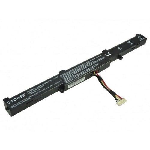 [tag] 2-Power Laptopbatteri til bl.a. Asus A41-X550E (Kompatibelt) – 2600mAh Batterier Bærbar