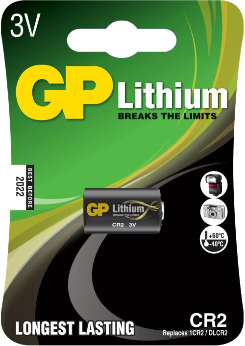 [tag] CR2 FotoLithium 3 Volt batteri Batterier Lithium