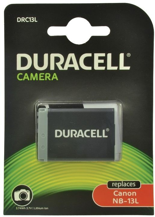 [tag] Duracell DRC13L kamerabatteri til Canon NB-13L 1010mAh Digitalkamera