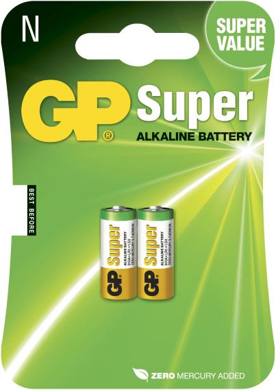 [tag] GP N Super Alkaline batterier / LR1 N / LR1 batterier
