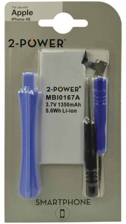 [tag] Smartphone Battery 3.7V 1350mAh + Tools Mobiltelefon batterier