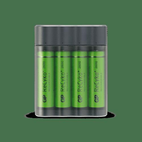 [tag] GP Charge AnyWay batterioplader og powerbank i ét AA AAA C D 9V