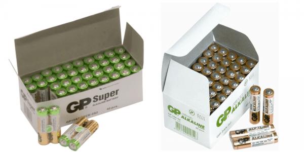 [tag] Sampak 40 stk. AA + 40 stk. AAA AAA batterier