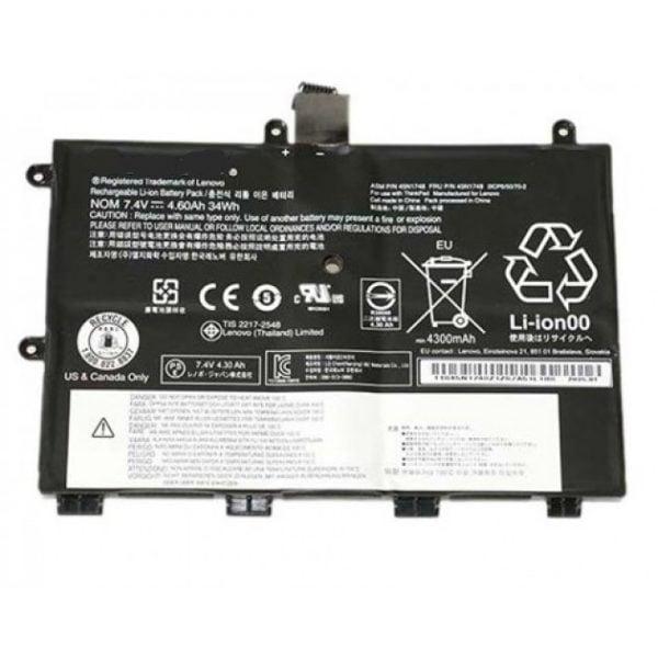 [tag] Lenovo batteri til bl.a. Thinkpad 11e Chromebook (Originalt) 4300mAh Batterier Bærbar