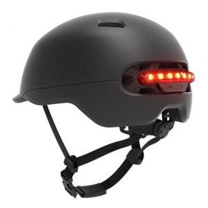 [tag] El-Løbehjul Hjelm med indbygget LED lys El løbehjul