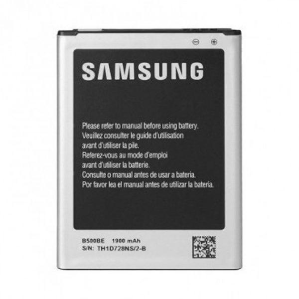 [tag] Samsung Galaxy S4 MINI Batteri B500BE – 4 Poler (Original) 1900mAh Mobiltelefon batterier