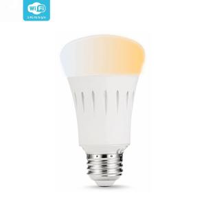 [tag] Smart Home WiFi lyspære Hvid (E27) 9W WiFi Lyspærer
