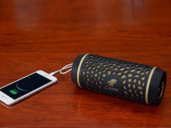 [tag] LEPA – Bluetooth udendørs Højtaler hoektalere