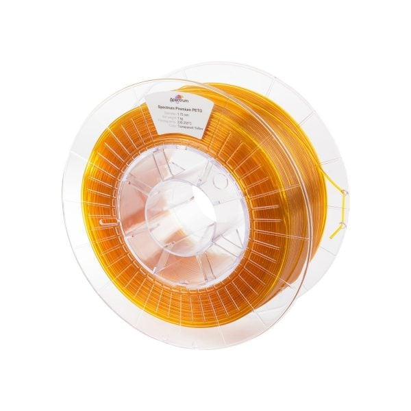 [tag] Spectrum Filaments – PETG – 1.75mm – Transparent Yellow – 1 kg Spectrum Filaments