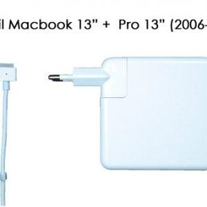 [tag] 60W oplader til Macbook 13″ + Pro 13″ (2006-2015) Computer