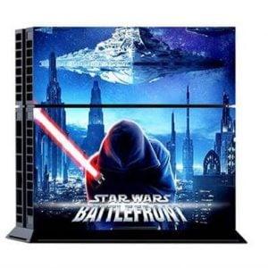 [tag] Star Wars Sticker til PS4 – Battlefront Blå Gaming