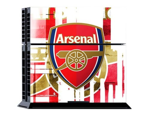 [tag] Arsenal: Stribet Skin til Playstation 4 Gaming