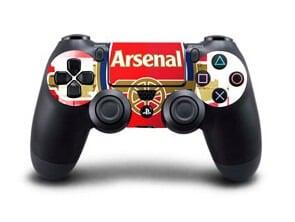 [tag] Arsenal: Stribet Skin til Playstation 4 controller Gaming
