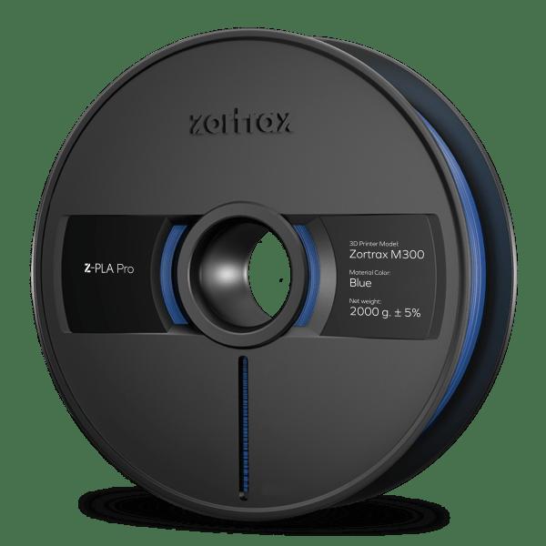 [tag] Zortrax Z-PLA Pro – M300 – 1,75mm – 2 kg – Blue Zortrax Filament
