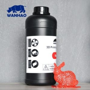 [tag] Wanhao 3D-Printer UV Resin – 1000 ml – Red Resin