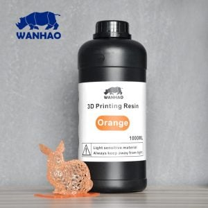 [tag] Wanhao 3D-Printer UV Resin – 1000 ml – Orange Resin