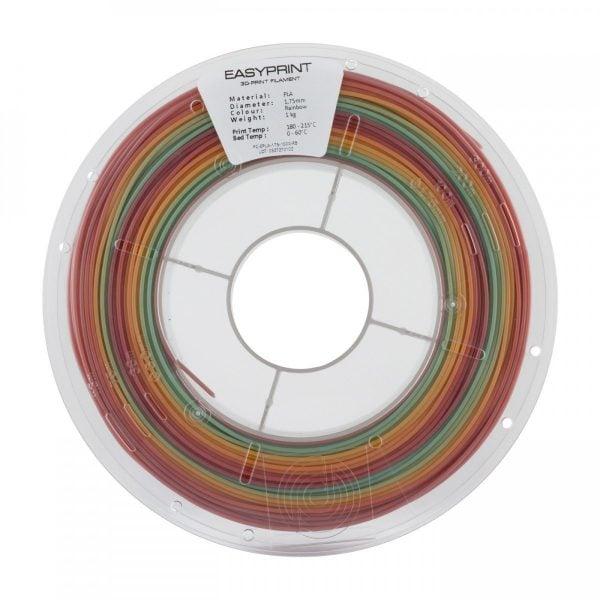[tag] EasyPrint PLA – 1.75mm – 1 kg – Rainbow 3D Filament