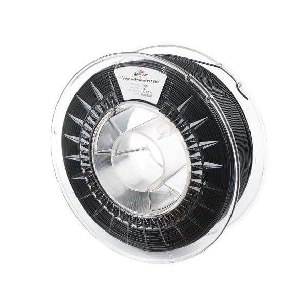 [tag] Spectrum Filaments – PLA Matt – 1.75mm – Deep Black – 1 kg Spectrum Filaments